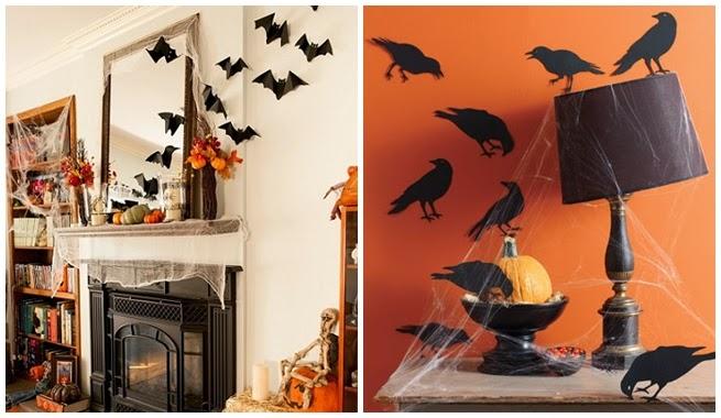 Recortes decorados truco o trato ya llega halloween - Decoracion casa halloween ...