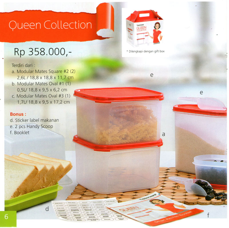 Katalog Tupperware Promo Juni 2013-Queen Collection, tupperwareraya