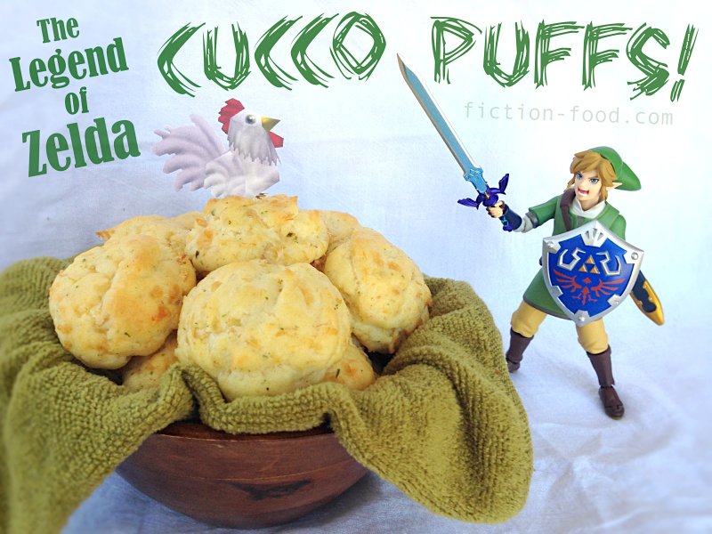 Fiction food caf cucco puffs for the legend of zelda games cucco puffs for the legend of zelda games forumfinder Images