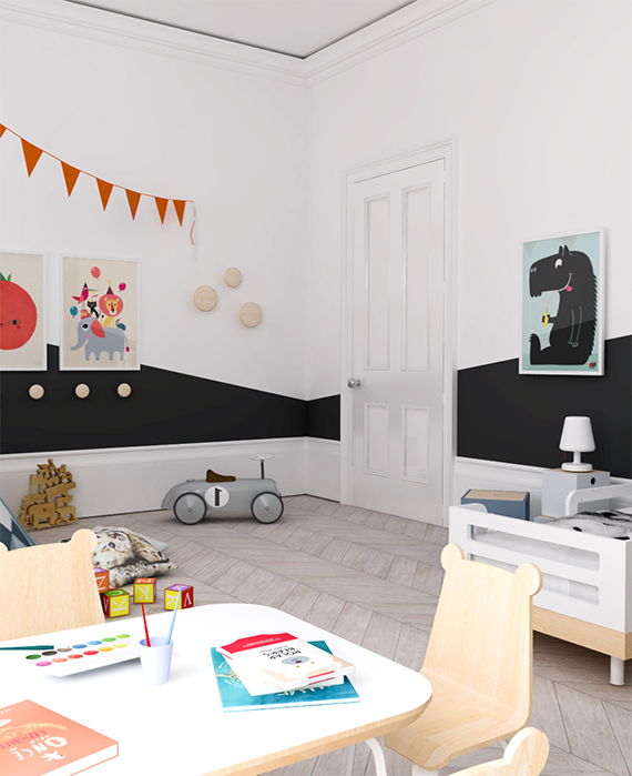 Eclectic kids room design by My Paradissi ©Eleni Psyllaki