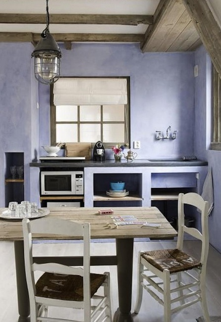 Awesome Idee Pittura Pareti Cucina Contemporary - Home Interior ...