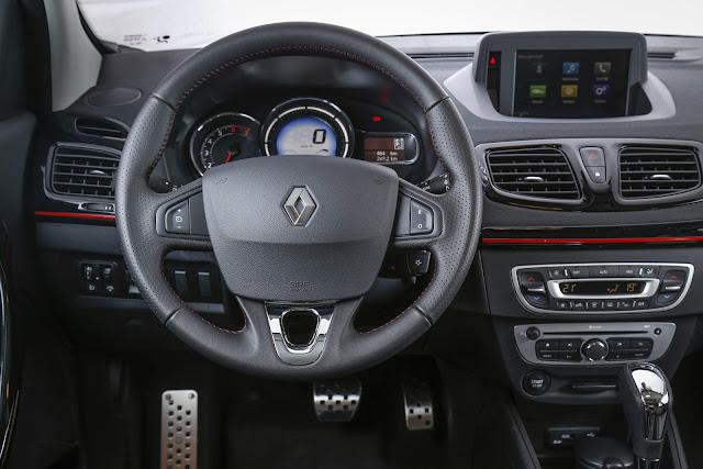 Novo Renault Fluence GT Line 2016 - painel