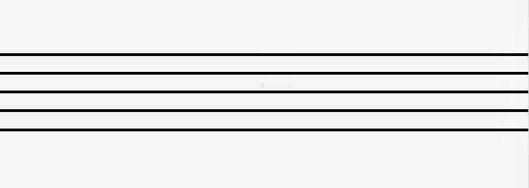 musical staff blank