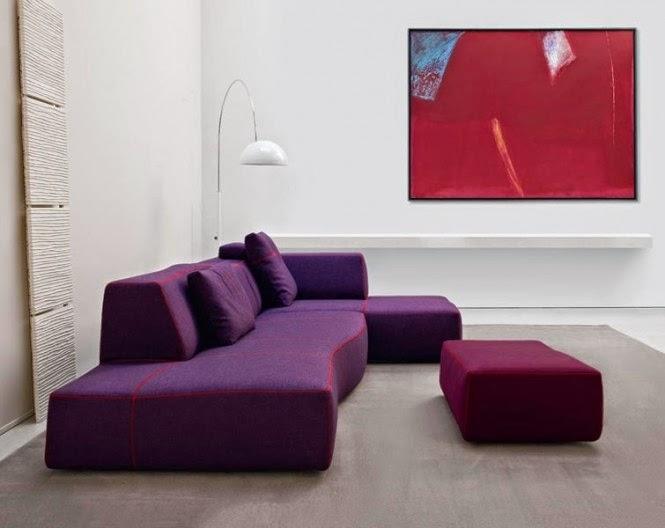 Simple Sofa for Modern Living Room-1