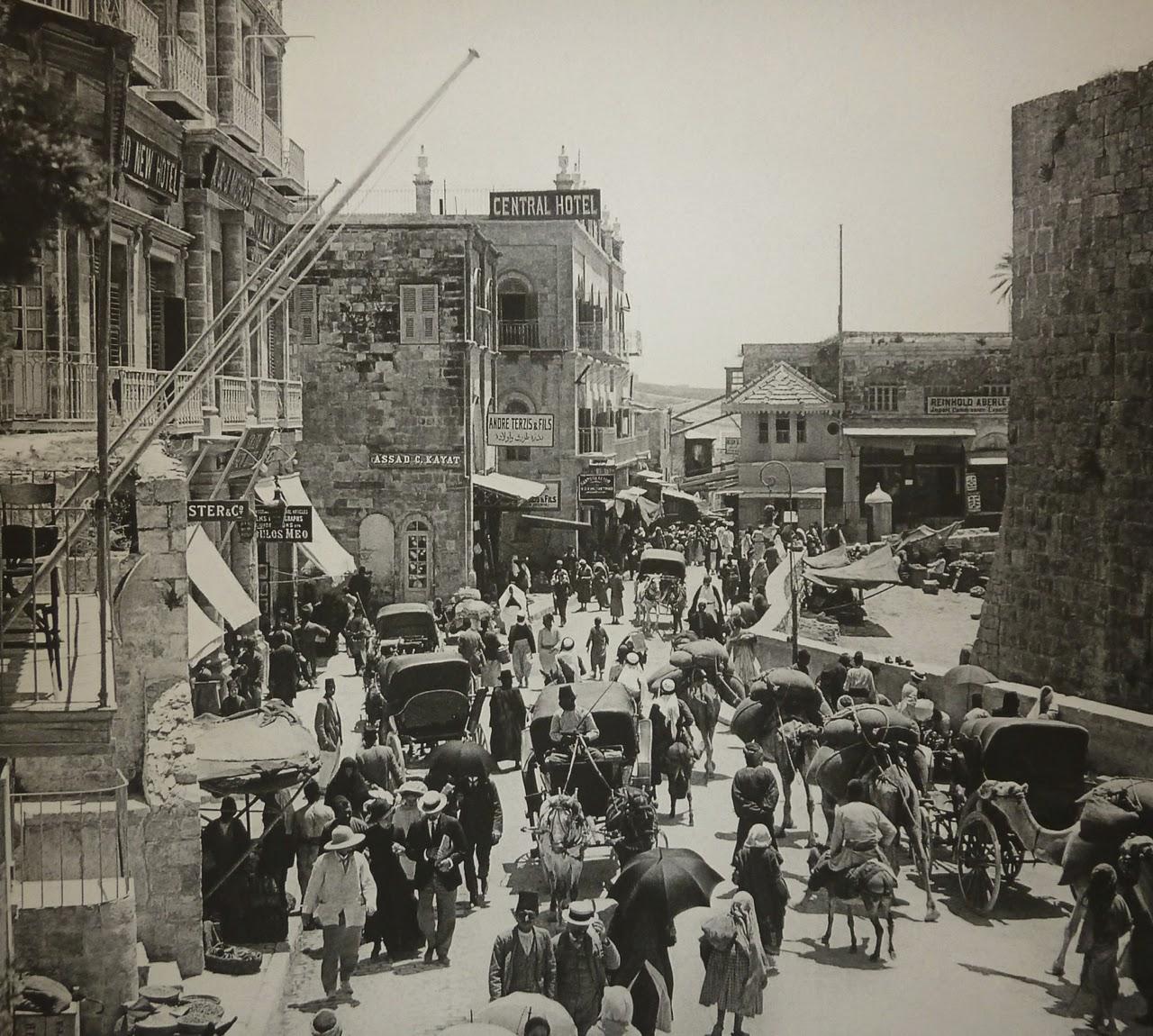 Fotografías de la antigua Jerusalén