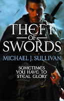 Book cover of Theft of Swords by Michael J. Sullivan