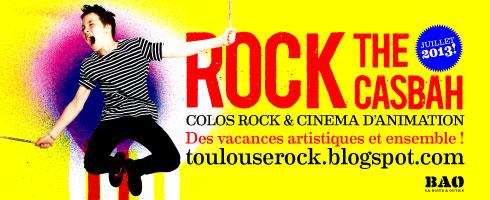 colos musique et cinéma ROCK THE CASBAH