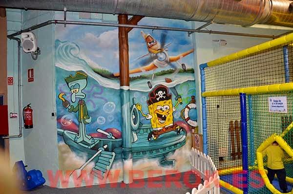 Mural infantil acabado