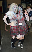 Zombie School Girls (I heard some geeky hight school boys calling them ZILFs .