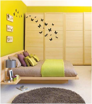 BUTTERFLY BEDROOMS - IDEAS TO DECORATE A GIRLS BEDROOM WITH ...