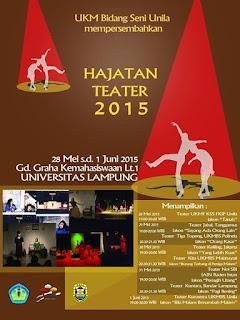 Hajatan Teater 2015