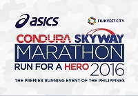 Conduro Skyway Marathon 2016 - Manila, Philippines