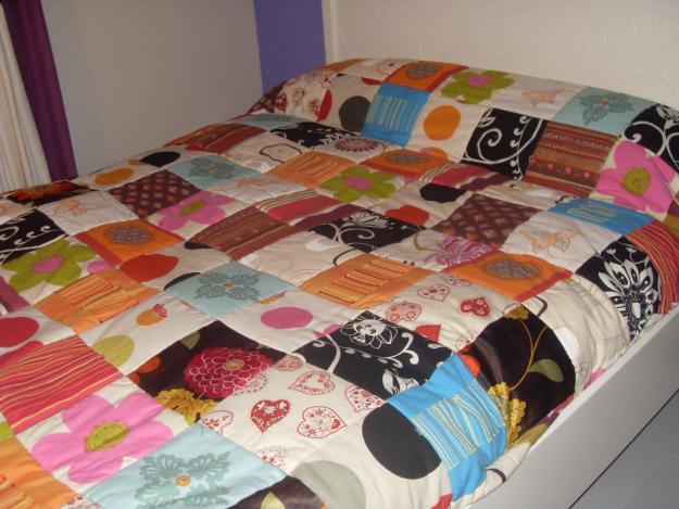 Colchas patchwork imagui - Hacer una colcha de patchwork ...