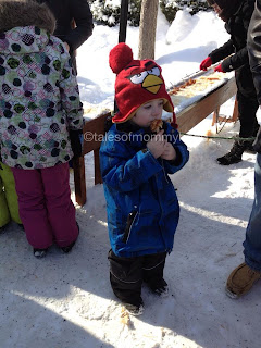 Winterlude Maple Taffy