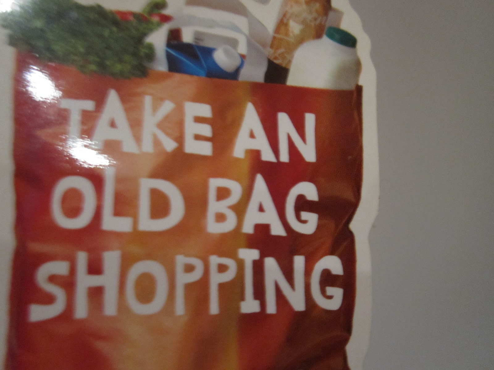 I ll forgive them for the blatant sexism I suppose because the message  about bringing your own bags to the supermarket is a good one. 01a42eff3ac81