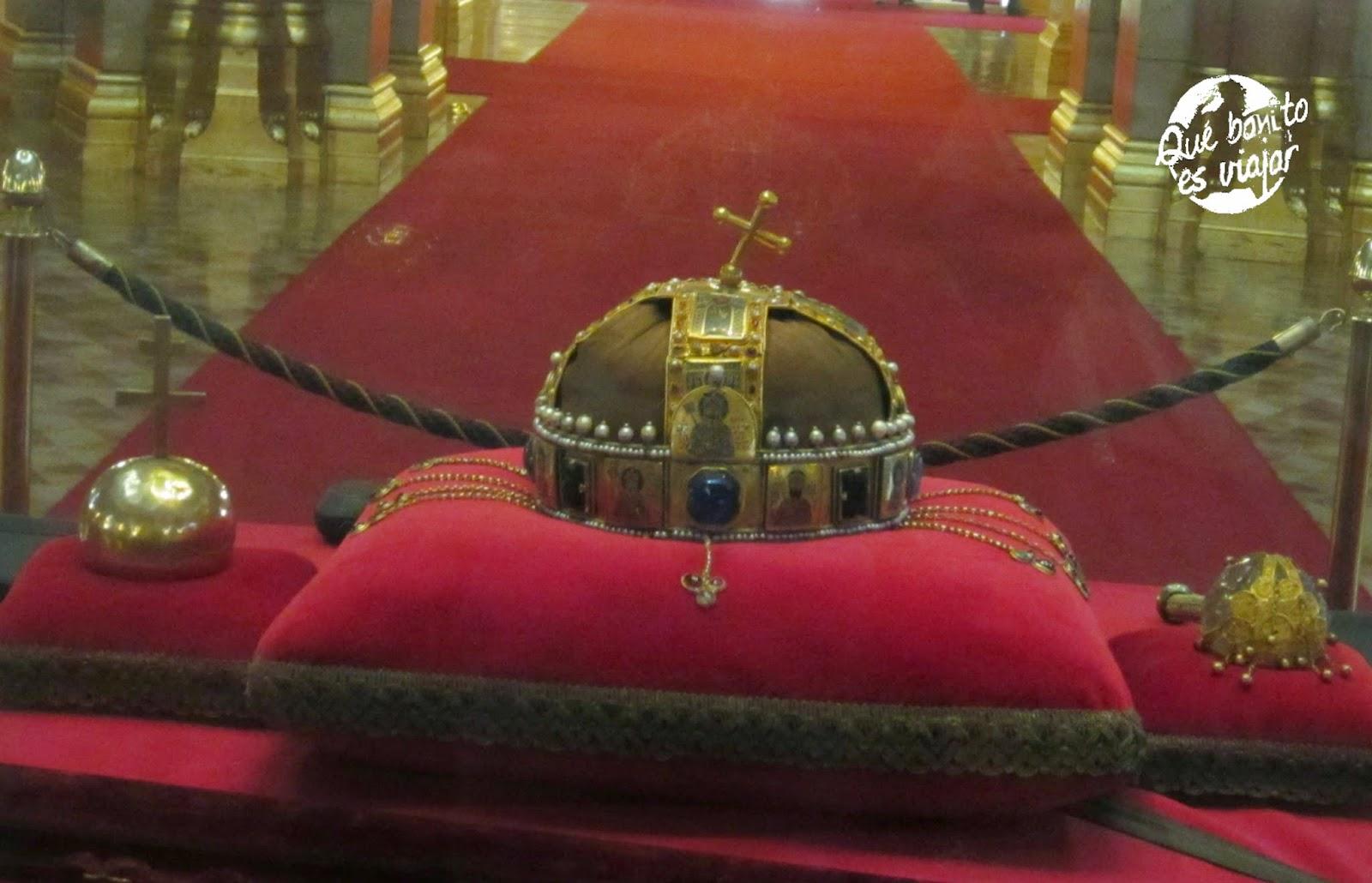 Corona Real Húngara o Corona de San Esteban