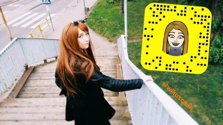 Snapchat: wikuschan