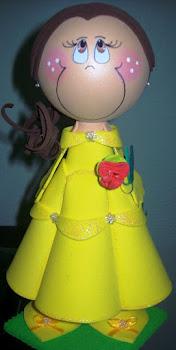 Fofucha Princesa Bela