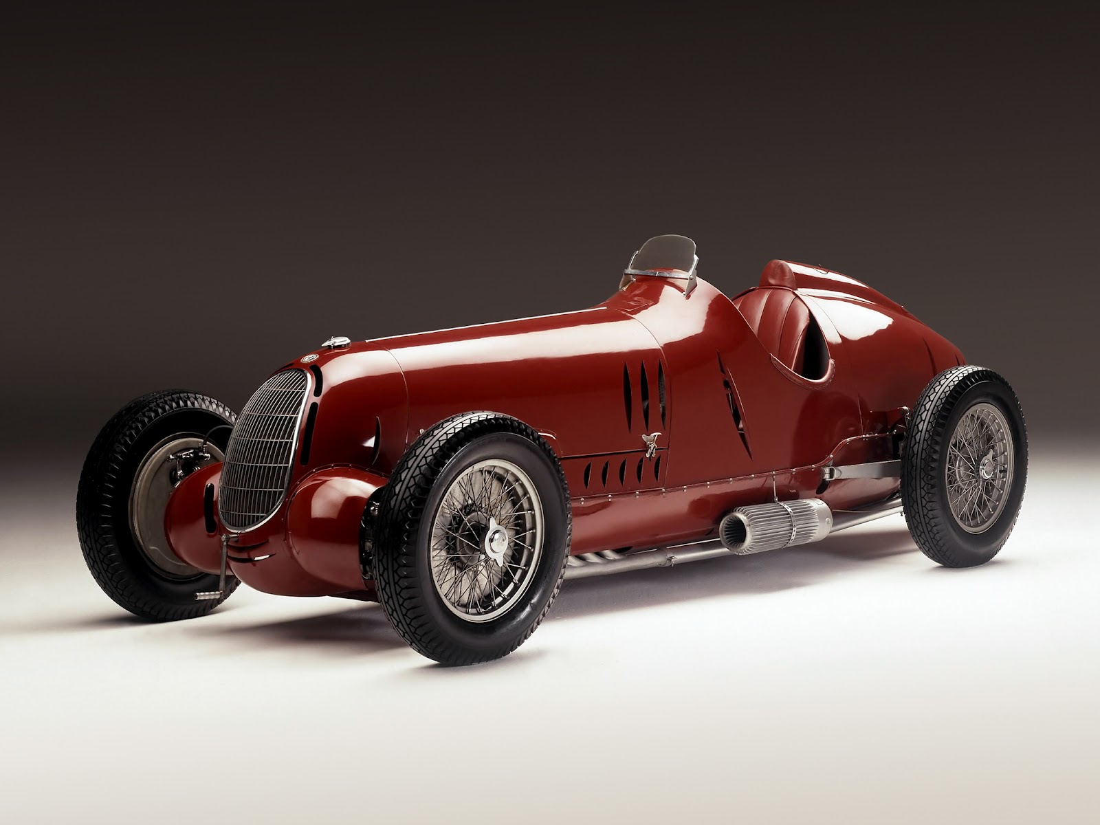 1971 Toyota Land Cruiser Retro Cars: Alfa Romeo Tipo C (12C-36) '1936