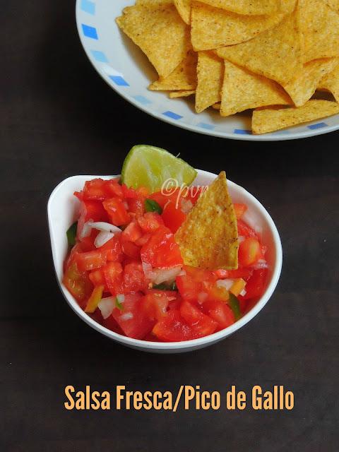 Salsa fresca, salasa Mexicana, Mexican tomato salsa