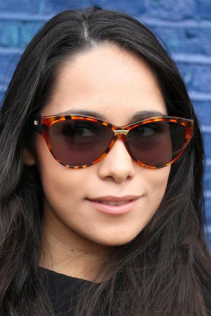 Vintage 90s Nina Ricci tortoiseshell sunglasses