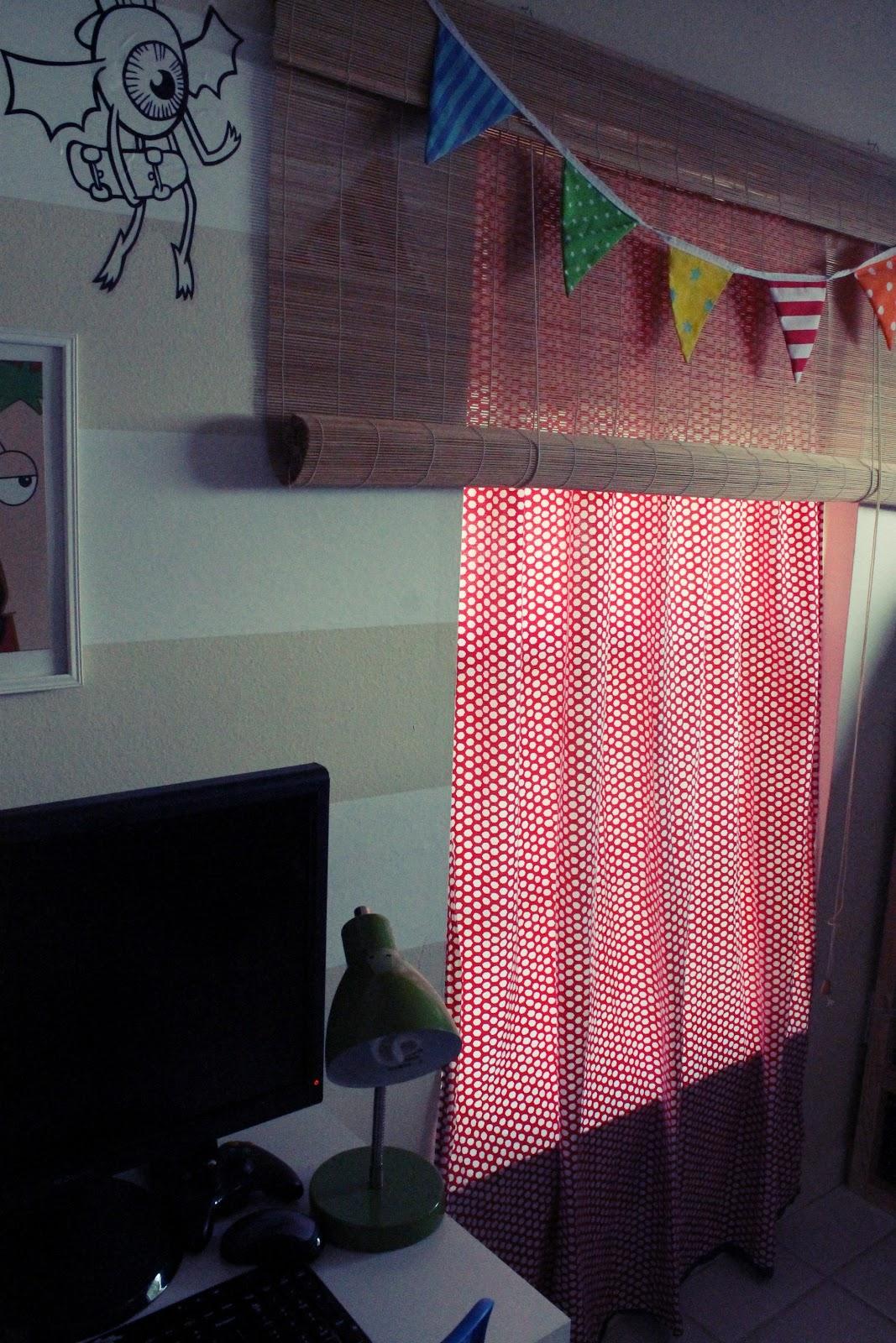 Você escolhe a altura da cortina vai puxando daqui e dali até  #A12A3E 1067x1600 Altura Janela Banheiro Abnt
