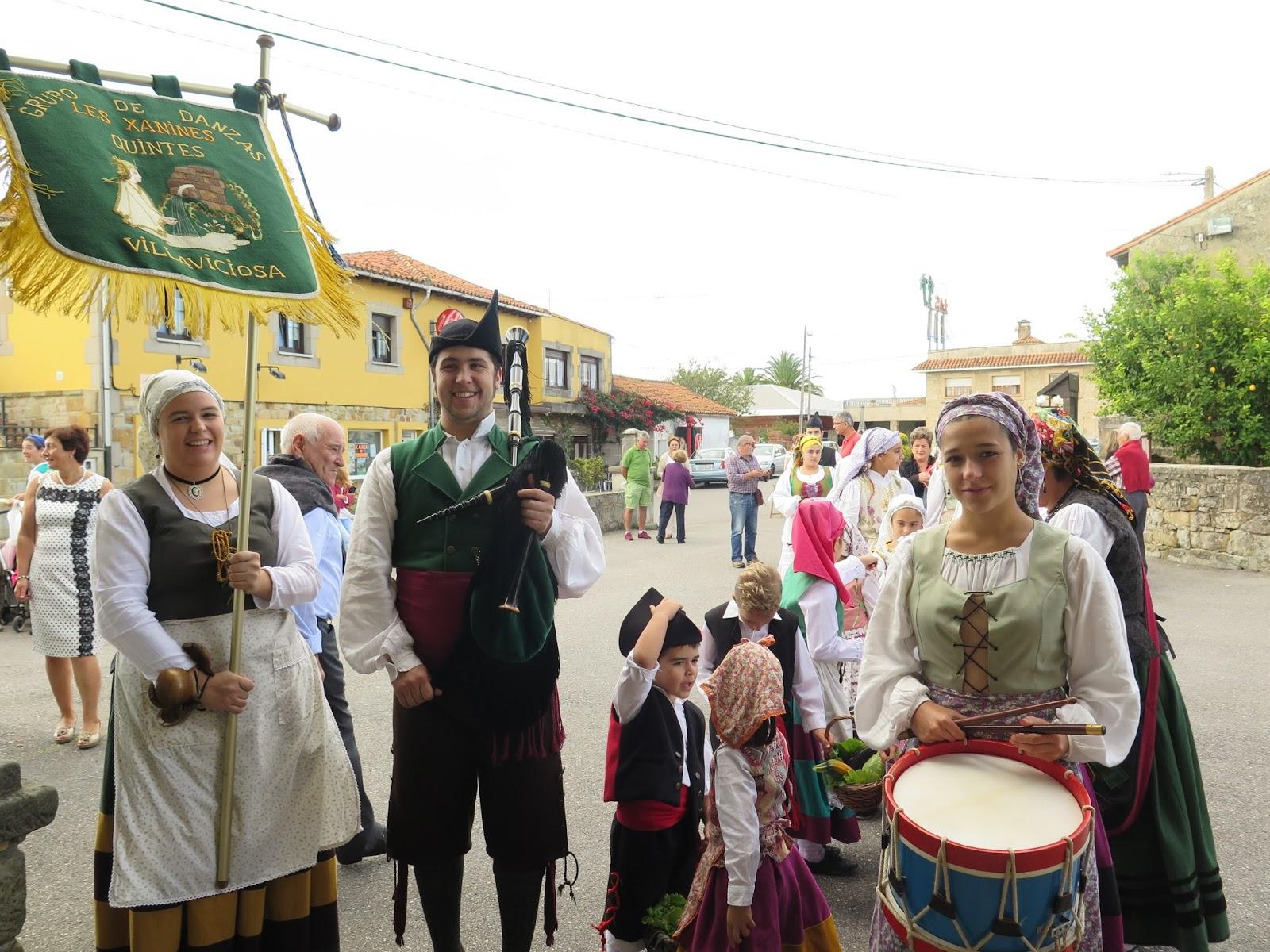 QUINTES Mirador del Cantábrico Fiesta de San Antonio 2015