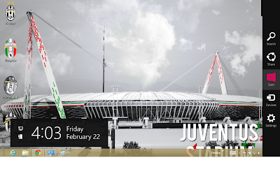 Juventus Fc Theme For Windows 7, 2013 Juventus Fc Windows 8 Theme, Nuovo Stadium Wallpaper