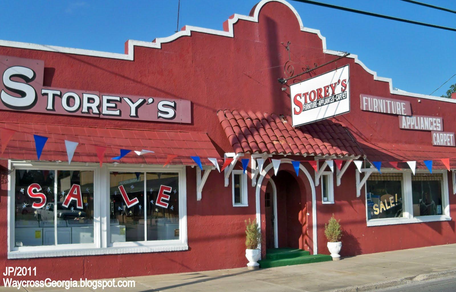 STOREYu0027S WAYCROSS GEORGIA, Storeyu0027s Furniture Appliances Carpet Store  Waycross GA. Ware County