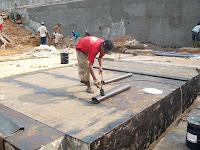 harga waterproofing membrane bakar