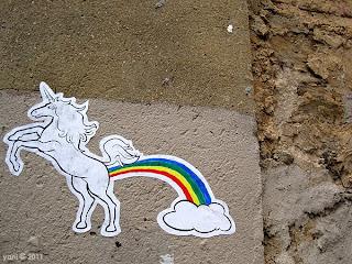 poopin rainbows