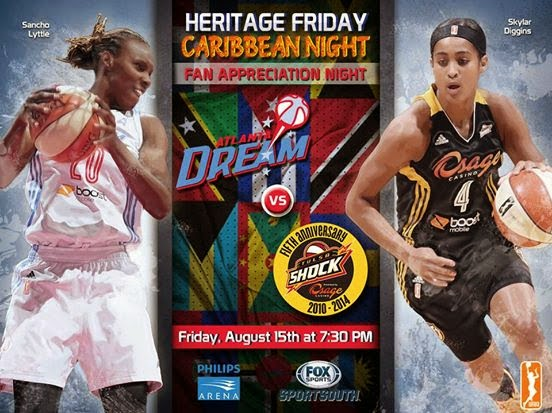 Atlanta Dream Vs Tulsa Shock