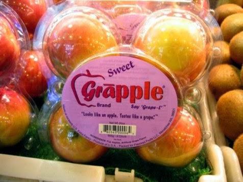 Buah Grapple, Apel dengan rasa anggur enak unik aneh