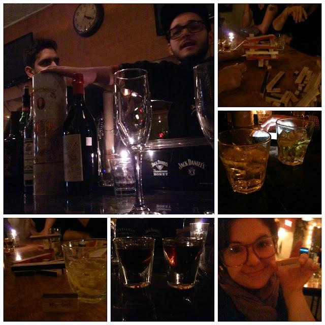 Soirée au Ping Pong Club: Vermouth et #Projectli
