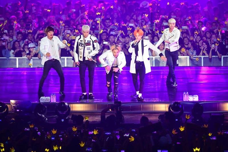BIGBANG, #MadeInMy, konsert, 2015