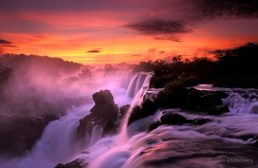 iguazu falls sunset - photo #5