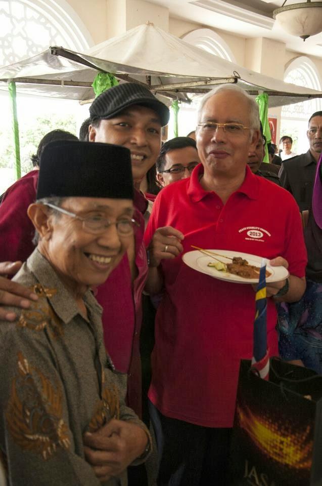 Menerima Jemputan PM di Sri Perdana