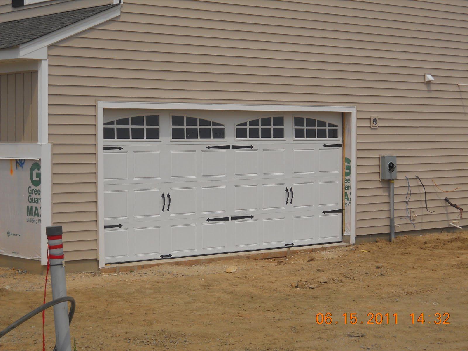 1200 #B45F17  : Building With Ryan Homes: Siding Is Complete Garage Door Is In wallpaper Complete Garage Doors 36251600