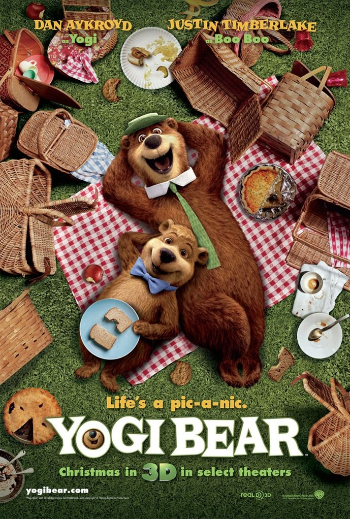 movie segments to assess grammar goals yogi bear 3rd