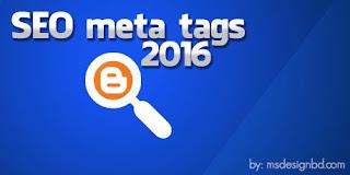 Meta Tags SEO Terbaru 2016