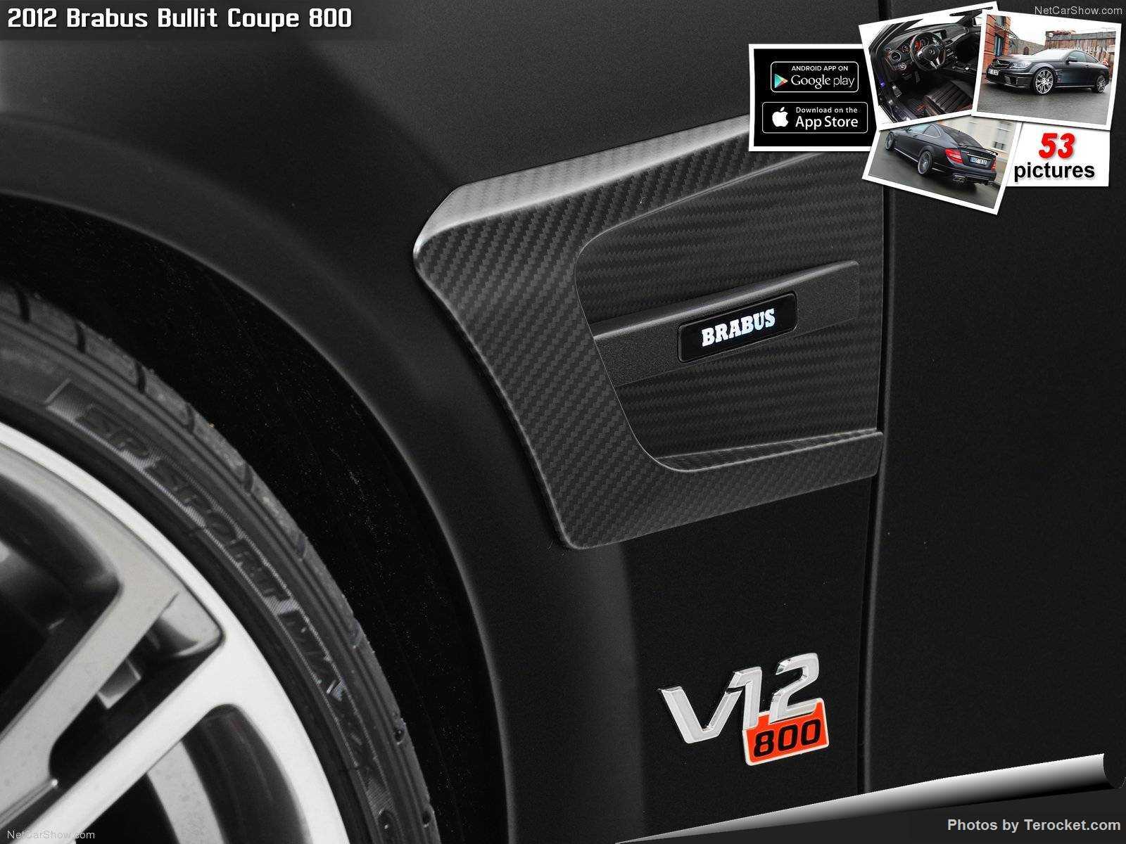 Hình ảnh xe ô tô Brabus Bullit Coupe 800 2012 & nội ngoại thất