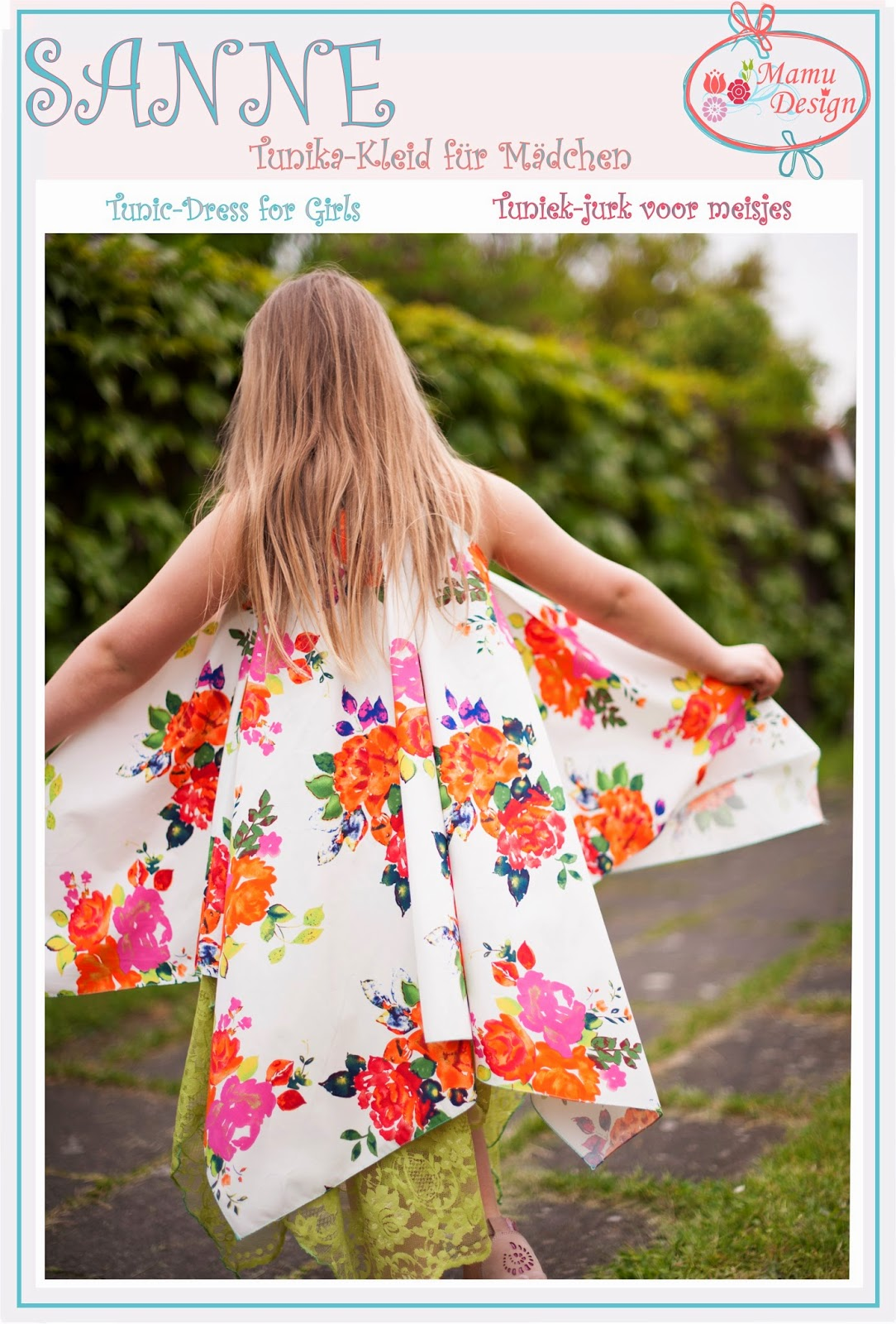 Mamu Design: Schnelles Kleidchen (Tunika) für den Sommer:-)