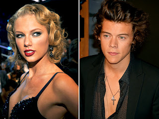 Taylor Swift and Harry Styles at the MTV VMAs in Brooklyn