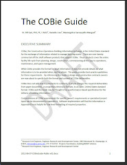 The COBie Guide