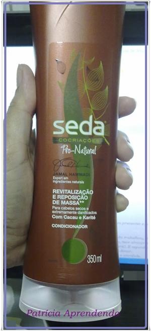 Condicionador Seda Pro-Natural Revitalização e Reposição de Massa