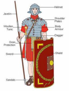 roman legionary uniform