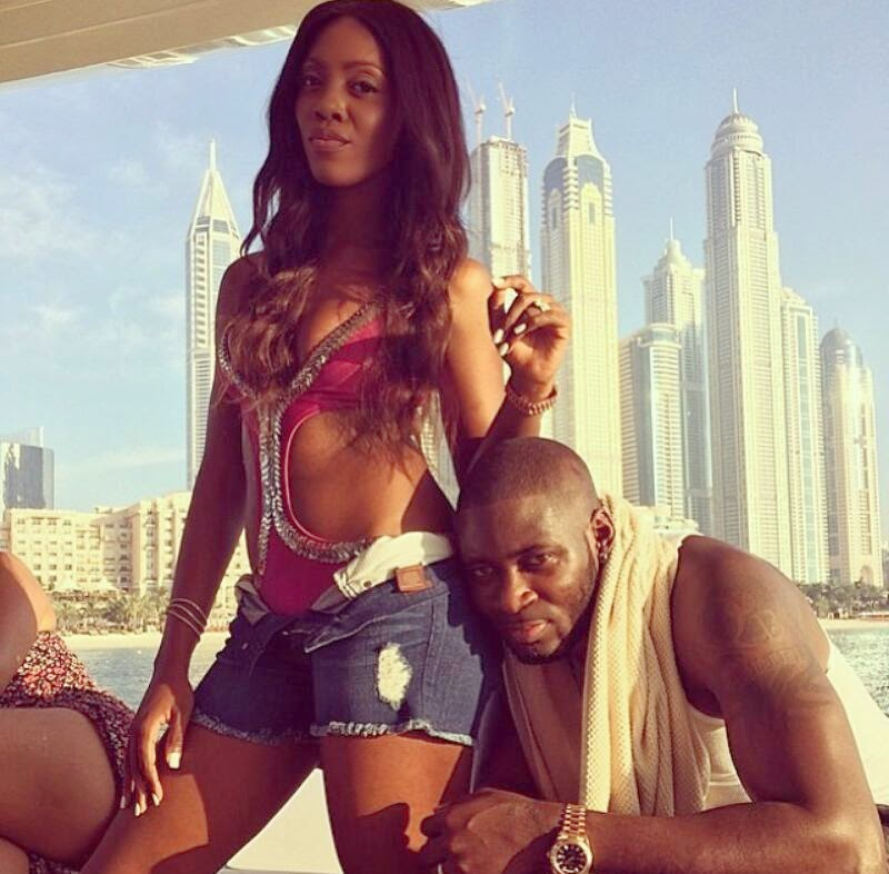 tiwa savage boat cruise