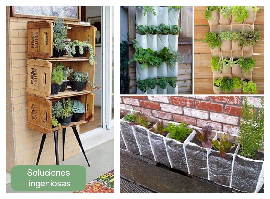 Una pizca de hogar grandes ideas para peque os balcones for Imagenes de jardines verticales pequenos