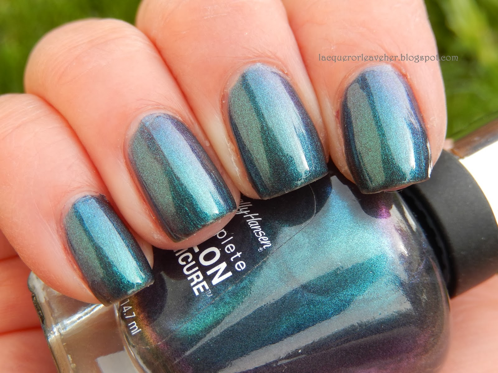 lacquer or leave her!: monday blues polished pairings: sally