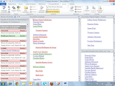 Nomes nas Listas